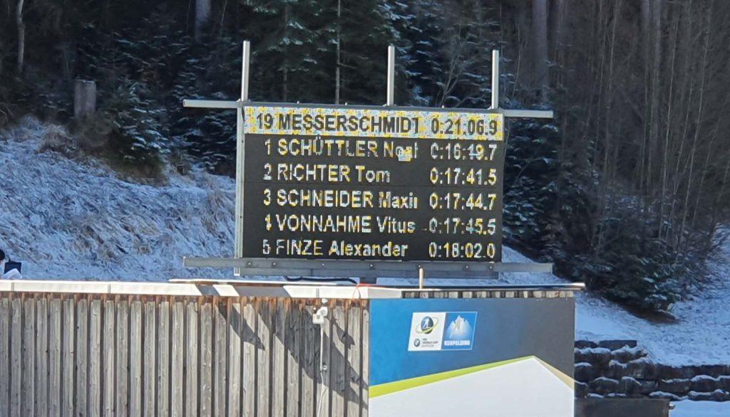 Noah Schüttler an Position 1
