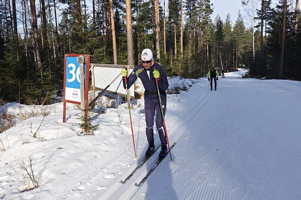 Harald Eggebrecht Training Vasaloppet 2020