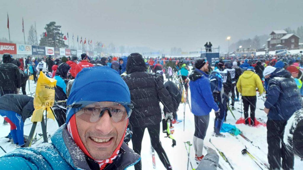 Harald Eggebrecht Start Vasaloppet 2020